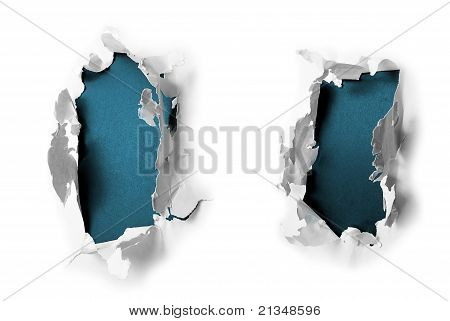 Breakthrough Paper Holes