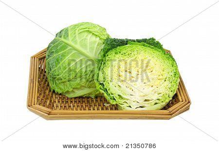 Sliced Cabbage Basket