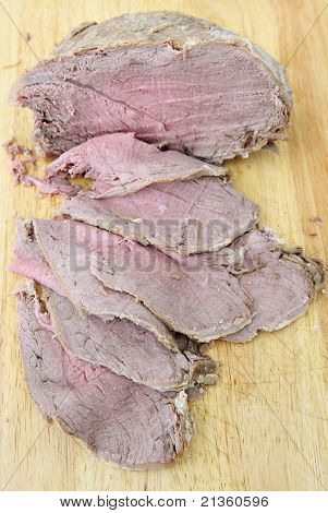 Cold Sliced Beef Vertical