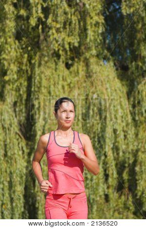 Jogging Girl