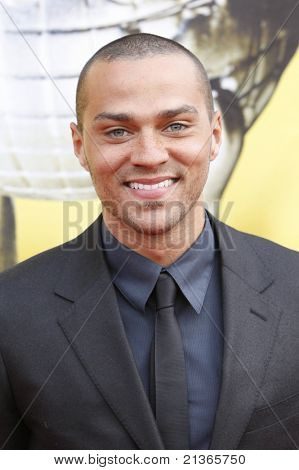 LOS ANGELES - FEB 26: Jesse Williams arriving at the 41st NAACP Image Awards - held at the Shrine Auditorium in Los Angeles, California on February 26, 2010