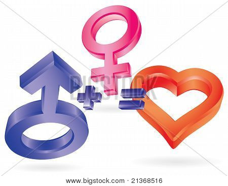 She Plus He Equal Love