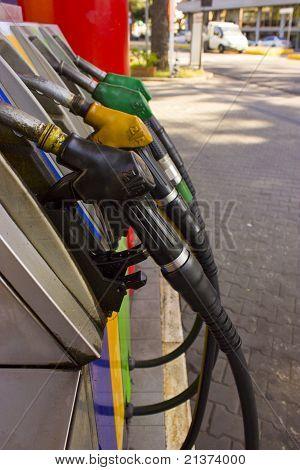 Fuel pump panel