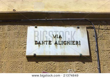 Via Dante Alighieri