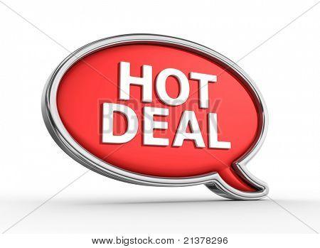 Hot Deal - 3d render
