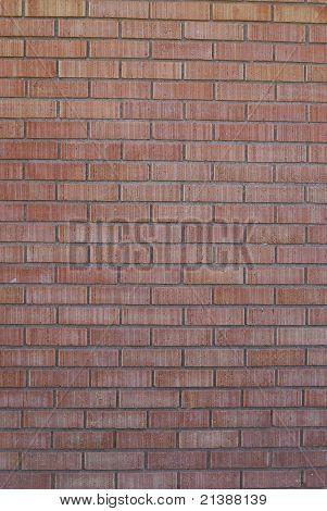 Verticle brick wall