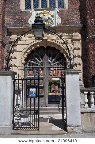 Gateway To Abbot's Hosptital