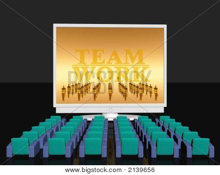 Teamwork, Empty Cinema Room