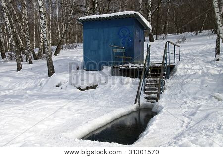 Place For Winter Swimming.