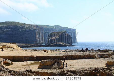 Landsacpe Of Comino And Gozo Islands