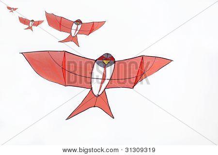 Four Layer Of Handmadered Martin Kite