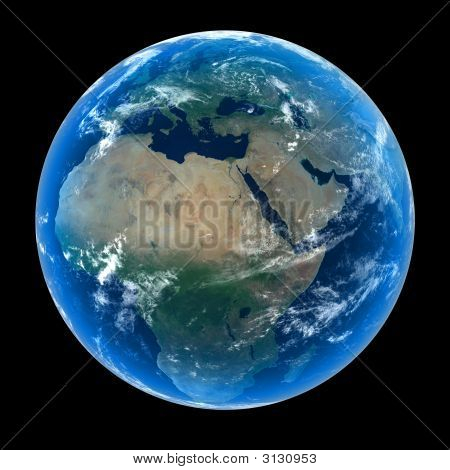 Planet Earth - Europe & Africa