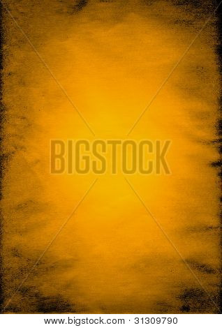 Crumpled Gold Paper Background