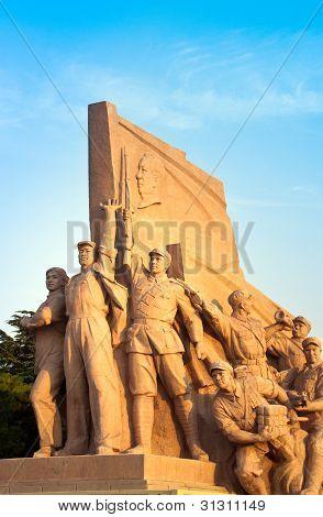 Mao's Mausoleum Monument