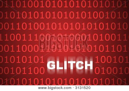 Technical Glitch Abstract Background
