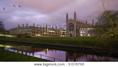 Kings college, Cambridge university, England