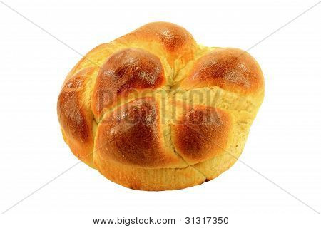 Traditional For Orthodox Christians Sweet Easter Bread.
