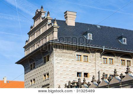 Schwarzenberg Palace Fragment,   Prague, Czech Republic