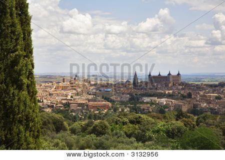 Panorama Of Ancient City Toledo