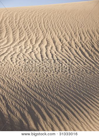 Death Valley Sand Ripples