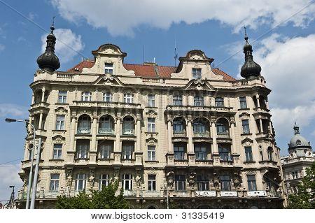 Classical Jiraskovo Namesti Architecture