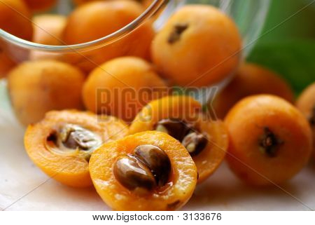 Mature And Flavorful Loquats.