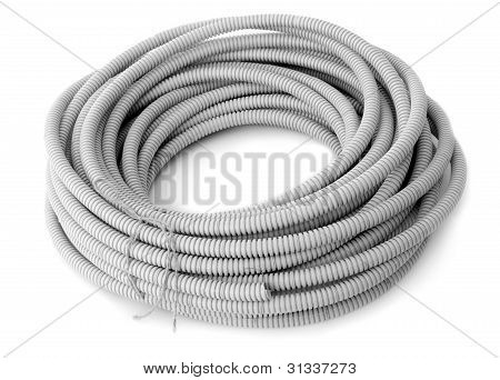 Corrugated Pipe For The Cable