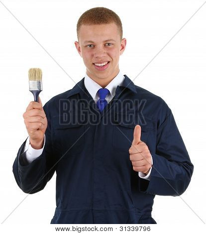 Guy With A Paintbrush