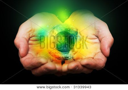 Universe In Hands