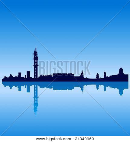 Pretoria silhouette skyline
