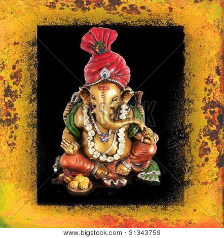 Ganpati, the Hindu Lord of New Begnning