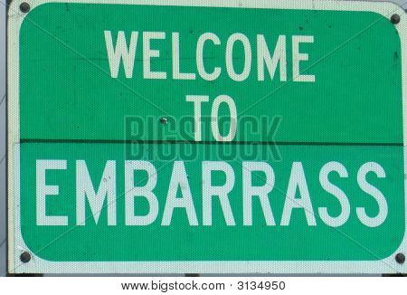 Embarrass Sign