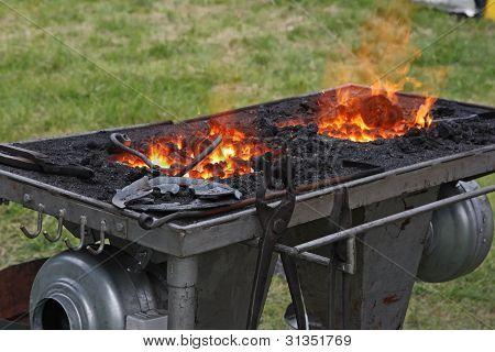Fuego ardiente