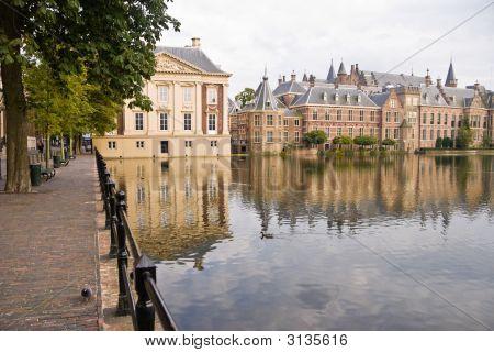 Binnenhof Palace In Den Haag