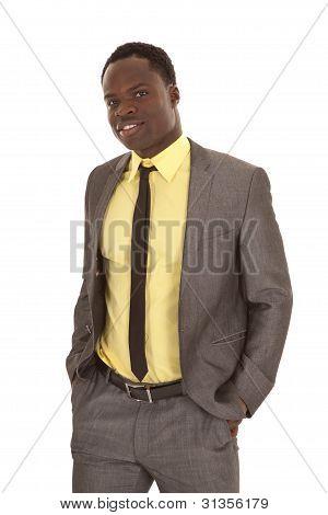 Capa de traje de hombre