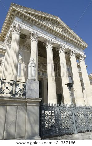 court in Nimes France