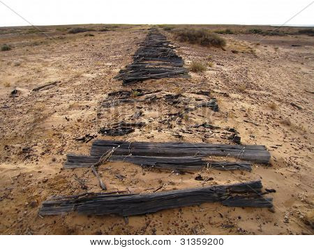 Antiguo ferrocarril, Australia