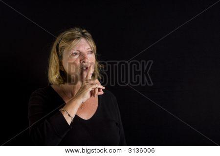 Senior Lady - Shhh
