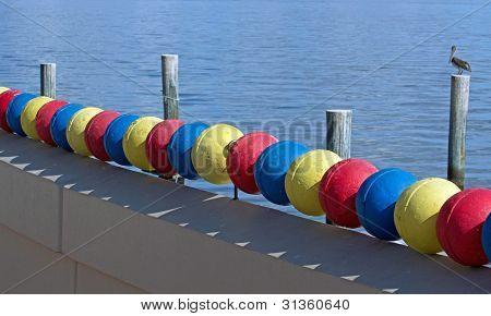 Colourful Buoys