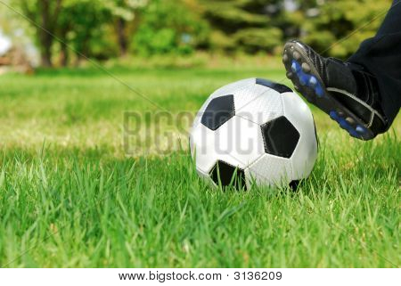 Youth Soccer Kick
