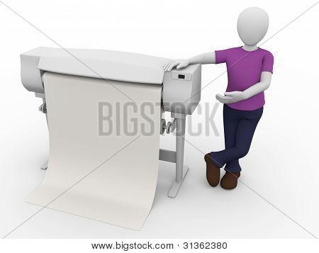 Plotter Worker