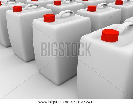 Plastic Gallons