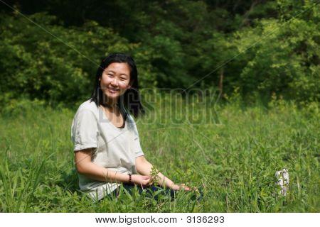 Happy Asian Girl