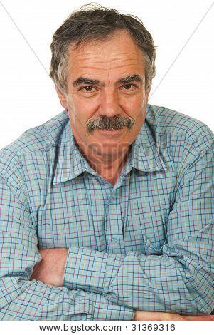 Happy Senior Business Man