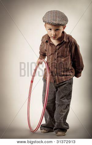 boy wants to play hoop but varies