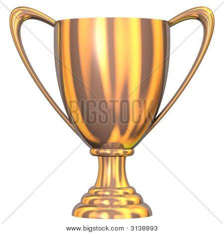 Bronze Trophy Cup