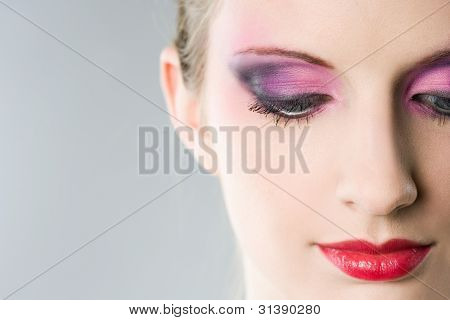Colorful Makeup.