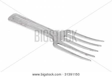 Small gardening fork trowel