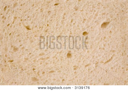 Closeup O White Bread