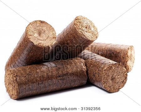 Wooden briquettes
